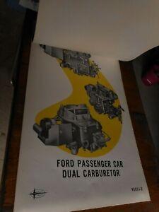 1960's Ephemera Ford Training Diagram 3ft x 2ft Motorhead Gearhead Posters
