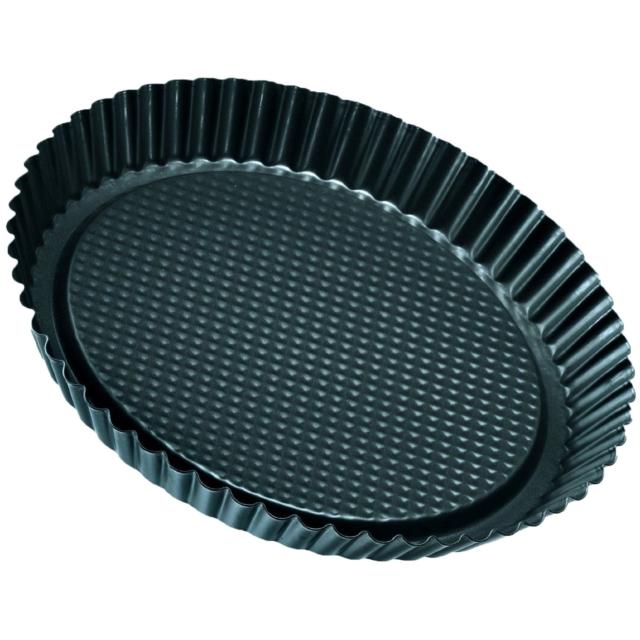 Zenker Non-Stick Carbon Steel Flan/Tart Pan, 11-Inch