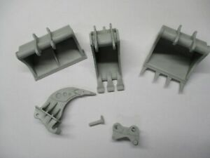 Resin-3-buckets-ripper-quick-change-attachment-by-J-Nikl-1-50-fits-Cat-365