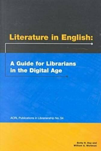 Literature in English : A Guide for Librarians in the Digital Age