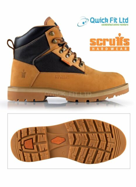 MENS SCRUFFS TWISTER PRO WORK SAFETY SHOES STEEL TOE CAP MILITARY BOOTS HIKING