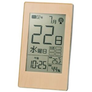 Marutatsu Digital LED Desk Alarm Clock Thermometer Timer Calendar Daily radio Cl