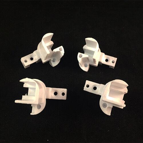 Remplacement Kit Bornes Avec Bloc Pour Montants Blanc Teuco 81065401