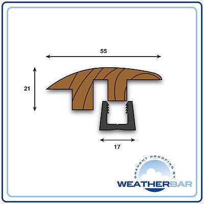 Solid Wood, Height Adjustable Flooring Profiles, Trims, Door Bars & Cover Strips