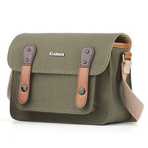 NEW-ORIGINAL-CANON-6520-HERRINGBONE-CAMERA-BAG-FOR-EOS-100D-REBEL-SL1