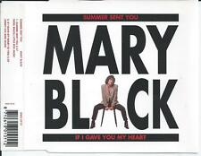 MARY BLACK - Summer sent you PROMO CD SINGLE 2TR BENELUX Print 1993