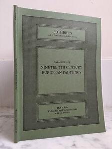 Catalogue Di Vendita Sotheby's Of Nineteeth Century 23 Rd Novembre 1981