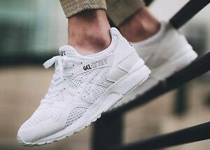 ASICS GEL LYTE V WHITE OPEN SCARPE BIANCO CHAUSSURE SHOES SHUHE ZAPATOS tg 45