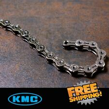 KMC X10SL Chain 10 Speed 116 link,Silver with Missing Link for Road / MTB Bike