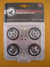 Street-Fighter Felgen + Reifen-Satz  GMP  1:18  OVP  NEU