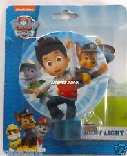 "PAW PATROL NIGHTLIGHT! CHASE, RYDER & FRIENDS! FREE SHIP! NEW! NICKELODEON! 5""RD"