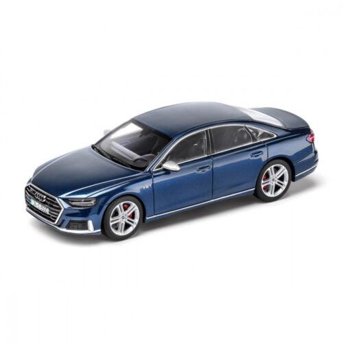 Audi originales deporte coche modelo 1:43 en miniatura s8 Limousine azul 5011818131