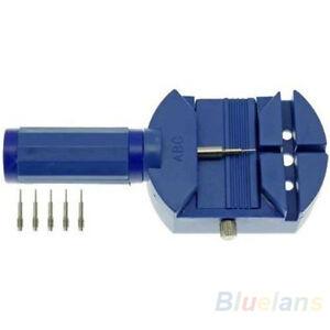 Cinturino-Orologio-Band-Link-Remover-Repair-Tool-5-pin-extra-per-la-regolazione-del-braccialetto