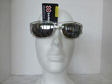 Mens X Games By Style Science Sunglasses 100% UVA/UVB Clear With Black Skulls