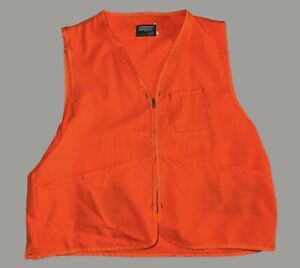 Saftbak-Blaze-Orange-Vest-Hunting-Safety-Vest-XL-XXL-Made-In-USA