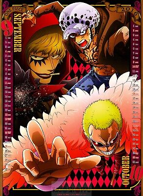 Poster A3 One Piece Doflamingo Donquixote Family Manga Anime Cartel Decor 01