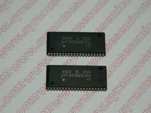 MT4C16257DJ-7 Micron RAM Lot of 2 pieces MT4C16257