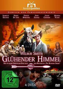 Gluhender-Himmel-The-Burning-Shore-Wilbur-Smith-4-DVD-Set-NEU-OVP