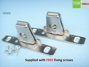 Image Is Loading Kitchen Drawer Front Fixing Brackets Used By Howdens