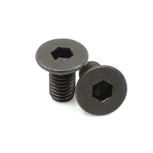 M1.6 Allen Countersunk Head Hex Screws Flat Screw Hexagon Bolts 10.9 Grade Black