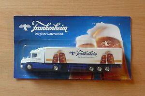 Modellino-autocarro-per-birra-Rimorchio-trasporto-SCANIA-124L-400-FRANKENHEIM
