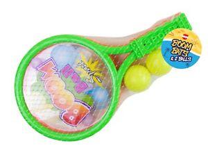 Boom Bat Rackets and 2 Balls Sport Garden Outdoor Kids activity Game Toy  8973235696 | eBay