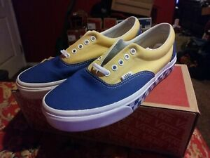 7dfcdcdbf0 Image is loading Vans-Era-BMX-Checkerboard-Skate-Shoe-Yellow-Blue-