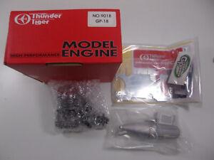 Thunder-Tiger-RC-Radio-Control-Model-Airplane-Engine-with-Muffler-9018-GP-18-NOS