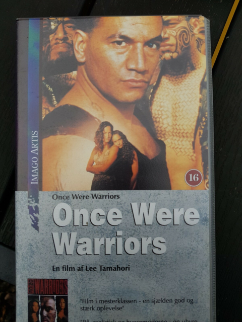 Drama, Once were warriors vhs, instruktør Thamahori, Uåbnet…