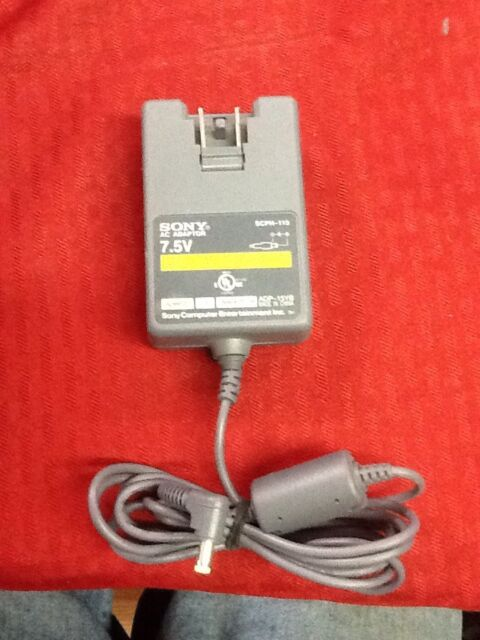 NEW AC Adapter For SONY Small White Playstation PSone 7.5V Volt Power Supply