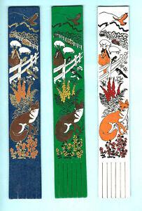 Leather-Bookmark-British-Country-Wildlife-Fox-Sheep-Horse-Owl-Falcon-Magpie-Bird