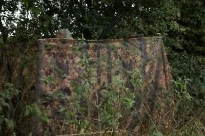 Jack Pyke Clear View Hide Net English Oak Woodland Camo Netting Blind Decoy New