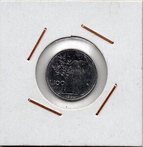 Italy : 100 Lire 1990 R ( Minerva ) UNC - España - Italy : 100 Lire 1990 R ( Minerva ) UNC - España