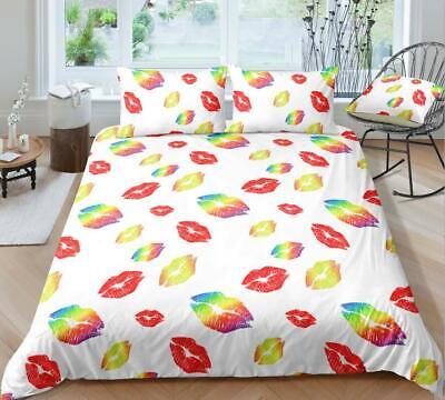 Details about  /3D Farbige Blätter ZHUC4539 Bett Kissenbezüge Decke Bettdecke Abdeckung Set