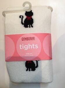Gymboree NWT Pink GLAMOUR KITTY LEOPARD ANIMAL PRINT DRESS TIGHTS 0 3 6 9 12 M