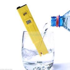 Digital PH Meter Tester Pocket Protable Pool Aquarium Hydroponic Water Monitor