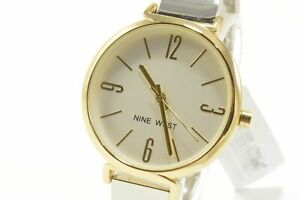 Nine-West-NW2265-Champagne-Dial-Silver-Tone-Ladies-Bangle-Watch