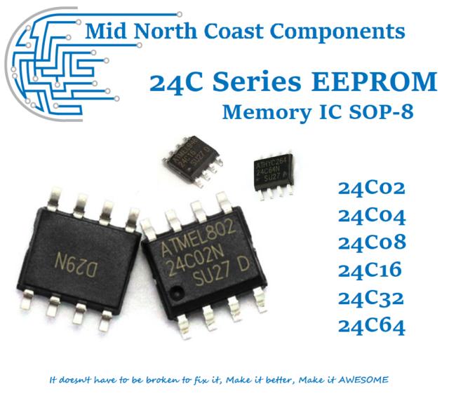 100pcs AT24C04 24C04 Serial EEPROM SOP-8 ATMEL