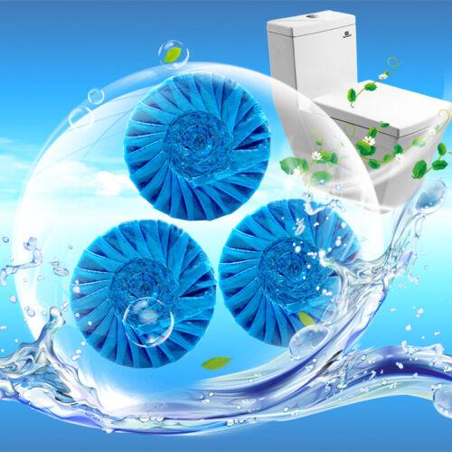 WC Spülkasten-Wasserkasten-Tabs Reinigung Entkalkung Blauspüler Toiletten-Steine