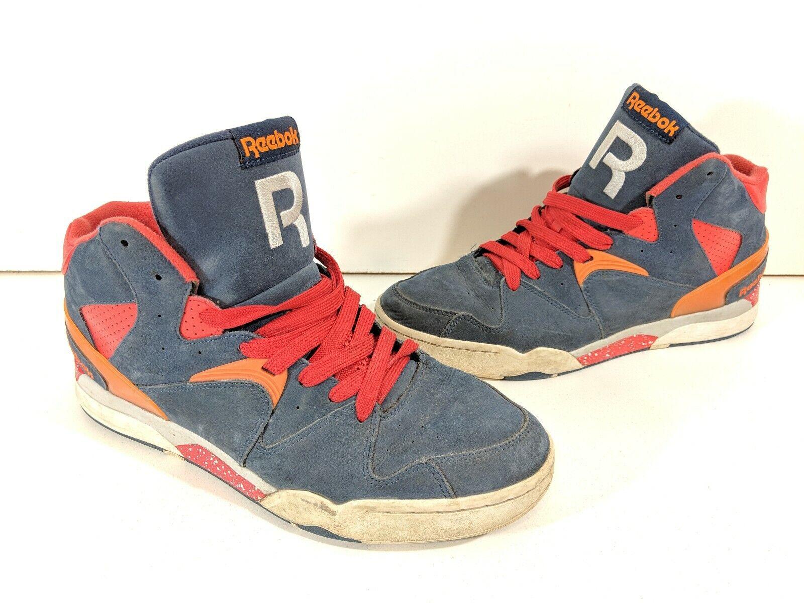 Reebok Classic Jam J95779 - Men's Size 11 Red bluee orange