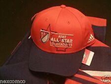 Adidas MLS SOCCER ALL-STAR GAME HAT CAP Tottenham hotspurs Colorado 2015 NWT