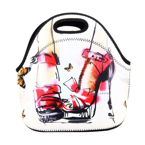 Insulated Lunch Box Picnic Tote School Work Cooler Bag for Women Lady Girl Nurse