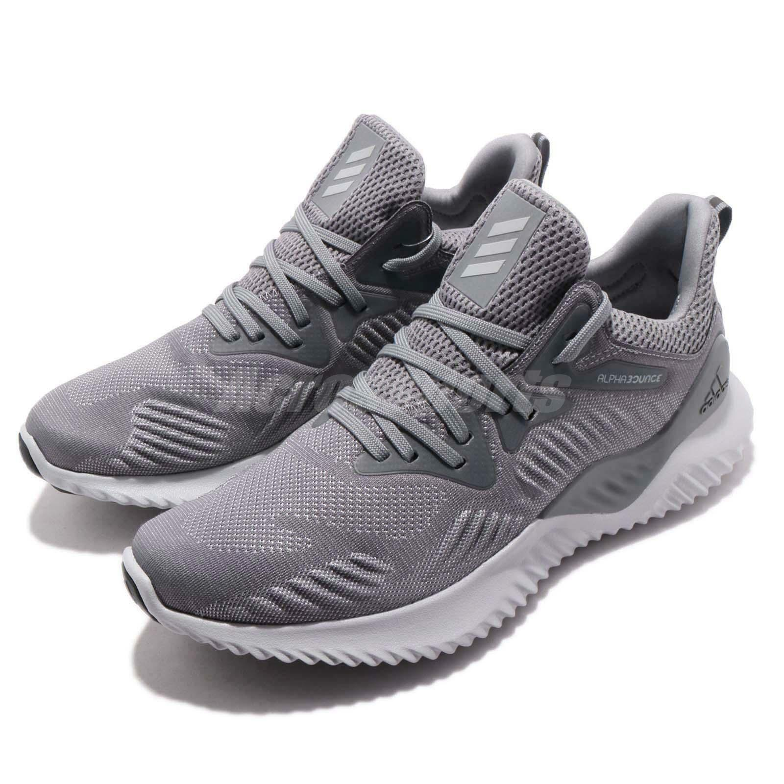 Adidas Alphabounce Beyond M Grey Men Running  Training shoes Sneakers CG4765  fashion