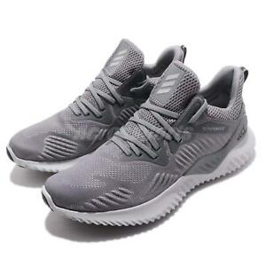 adidas Alphabounce Beyond M Grey Men Running Training Shoes Sneakers ... 8bbdd062a0