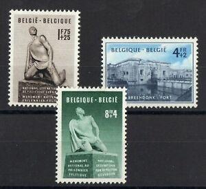 Belgica-Serie-De-3-Sellos-Nueva-N-860-862-Valor