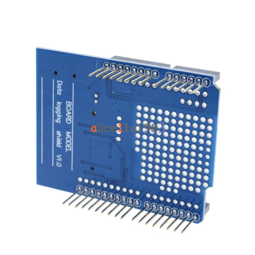 2PCS Data Logger DS1307 Logging Data Recorder Shield for Arduino UNO SD Card