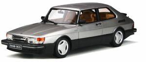 OTTO-MOBILE-875-SAAB-900-TURBO-16V-AERO-MKI-resin-model-car-silver-Ltd-1-18th
