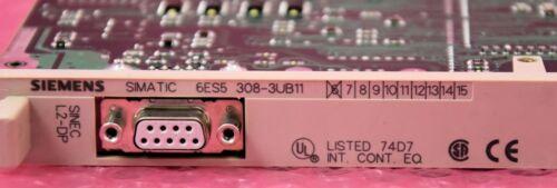6es5 308-3ub11 e:6//incl Siemens Simatic s5 anschaltung tipo es5375-1la21