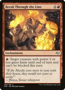 MTG Fate Reforged Bloodfire Enforcers NM Card