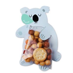 10pcs-Animal-Sacs-Cadeau-Candy-Cookie-cartes-de-v-ux-Anniversaire-Emballage-nous
